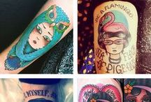 Jubly-Umph  | Tattoo Love... / Beautiful tattoos to inspire and delight. Featuring nerdy sayings, book quotes, flora and fauna, neo traditional and modern.