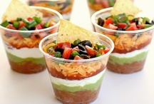 Appetizers That Entertain / What's a party without some tasty snacks to munch on? Impress your guests with a creative and festive appetizer. / by Holley Grainger Nutrition | Healthy Food, Family, & Fun!