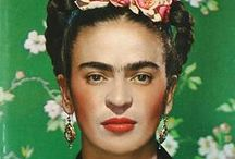 Frida / Photos, artwork and objects inspired by Mexican cult artist Frida Kahlo.