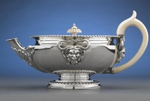 Silver Teapots / by Tea in England