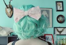 Inspiration | HAIR! / Retro, rockabilly and vintage hair styles. Featuring bright colours, classic looks, tutorials and cuts to inspire a unique look.
