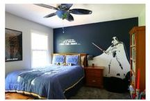 Star Wars Boy's Bedroom / Awesome little boy rooms, with an emphasis on Star Wars decor