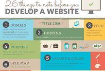 Website  / Web design & dev.