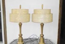 Vintage / Antique Lamps & Lighting and Dresser Hardware