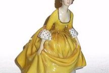 Royal Doulton / Everything beautifully made by Royal Doulton...Toby mugs, character pitchers, figurines, etc.