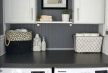 Home: Laundry Rooms / by Jackie Bach