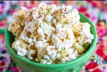 Popcorn Recipes / Original Popcorn recipes created by Buck and Jen at Just Poppin as well as recipes from our popcorn loving friends around the web! Brought to you from our team here in Nokomis, Florida.