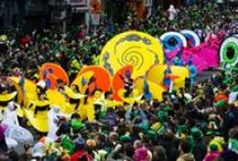 St. Patrick's Day / Ireland's biggest party is also a national holiday! You haven't truly experienced St. Patrick's Day until you've celebrated the four day festival at the place where it all started!  / by Tourism Ireland