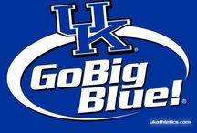 University of Kentucky / Pictures of campus, crafts, and basketball. All things Big Blue Nation  / by Julia Harold