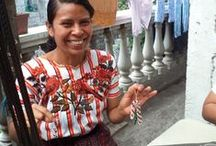 Tabitha Ministries ~ Guatemala / Artisans at Tabitha Ministries in Guatemala make exquisite products out of seed beads. The group employs 8 artisans who are able to provide much-needed income for their families through their work.