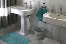 Home Sweet Home {bathroom} / bathroom ideas / by Erica Girard