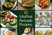 Stuffed Avocado Recipes / by Holley Grainger Nutrition | Healthy Food, Family, & Fun!