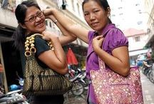 Napada ~ Thailand / Napada provides a creative outlet, a caring atmosphere, and a living wage that helps Thai women thrive and provide for their families.