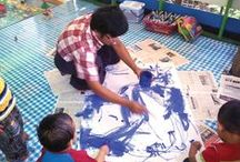 S.A.L.T. ~ Myanmar / Artisan group S.A.L.T. (Salt and Light Trading) in Myanmar is supporting the day-to-day operations of a preschool, which teaches children about their Creator and provides otherwise inaccessible early childhood education to eager families.