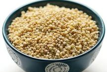 Ancient Grains Recipes / Want to try new healthy ancient grains recipes but not sure where to start? Here are some delicious recipes for breakfast, lunch, dinner and snack time highlighting favorites from sorghum to spelt and freekeh to farro. / by Holley Grainger Nutrition | Healthy Food, Family, & Fun!