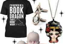 Quirky Fashion, Accessories & Homewares / Unusual and quirky items for yourself, a gift or your home. Featuring librarian and book themed outfits, lazy day sweatshirts, coffee cups and animal jewelry