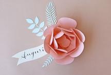 paper craft / I love paper
