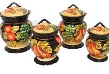 Kitchen Canisters / by Deanna Hilbert