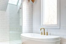 BATHROOMS / You spend too much time in there not to love it. Ideas about creating a great space with thoughtful design. / by Emily Anderson