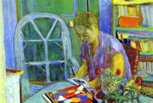 Pierre Bonnard  / Work on the accent, it will enliven the whole. Pierre Bonnard