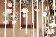 wedding center pieces / business ideas board