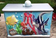 Cookie Jars Disney / by Deanna Hilbert