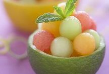 Melon and Watermelon! / Sweet and Refreshing!