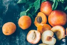 Peaches and Apricots! / Similar but different!Always delicious!