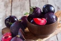 Figs and Plums! / Unique flavor and texture!
