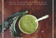 Juices & Smoothies / This collection of smoothies and juices is sure to have something for everyone! / by Brad's Raw Foods