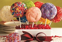 Cake Pops, Cake Balls, and other Pops - More fun sized treat! / Served on a pop stick or shaped like a ball...you'll find it here!