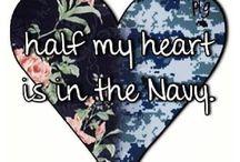 Navy / by Kim McLean