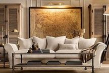 """inspired interiors / """"A room should feel collected, not decorated."""" -Suzanne Kasler / by Gina Christman"""