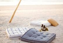 * Sur la plage *