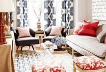 Living rooms. / [family + living spaces] / by Leah Vitrano