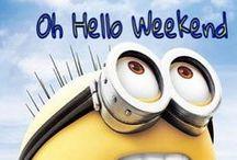 Weekend / ¡Feliz fin de semana!