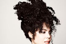 Curls Gone Wild / For girls like me who wear their curly hair big, textured, funky and WILD. Here are some icon images.