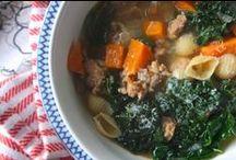 Garden Soup / Delicious soups featuring garden goodies! www.meadowsfarms.com