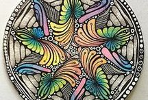 Zentangle and drawing / by Claudia Dixon