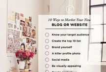 Blogging / Blogging resources and the things that come with it: email newsletters, Wordpress, social media marketing, and other topics revolving around making a blog successful