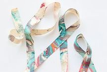 Crafty | Ribbons / Ribbon inspiration, tutorials, projects, and other crafty bits