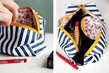 Make up bags / Patterns and tuturials
