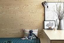 Wood & wood / by Linda Kass