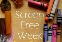 Screen Free Week Ideas