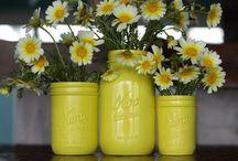 Mason Jars & Ideas for Jars / Creative ideas for Mason jars.