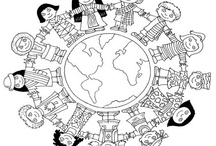 Hallo Wereld: Kleurplaten