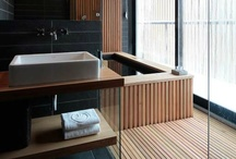 Wooden bathrooms