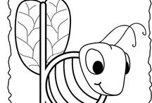Bijen Kleurplaten