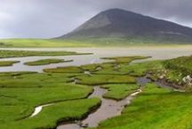 Harris and Lewis / Beautiful Lewis and Harris in the Outer Hebrides make up the largest island in Scotland. / by Location Scotland