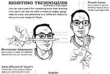 Concept Art & Tecniques / Character design, Concept design,  sketches, drawing tutorials... / by J. Alejandro Martínez